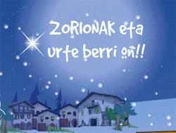 Decir Feliz Navidad En Vasco.Lmentala Eboletinak